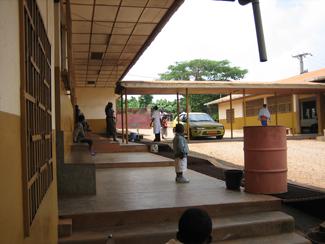 Maternidad en Cameroun