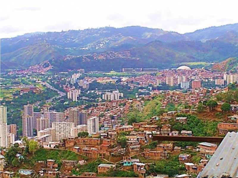 Communauté «Los Jardines del Valle» à Caracas (Venezuela)