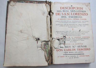 Descripcion del Real Monasterio de El Escorial