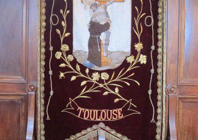 Estandarte de la tercera orden franciscana