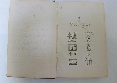 Specimen 144 lenguas Jeroglificos