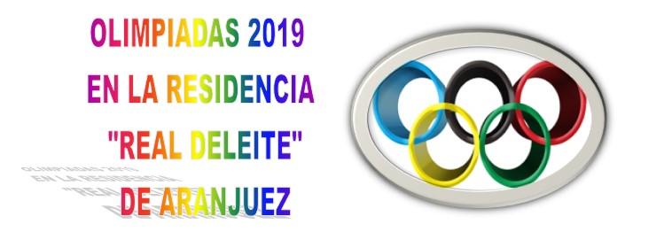 Olimpiadas 2019 en la Residencia «Real Deleite» de Aranjuez