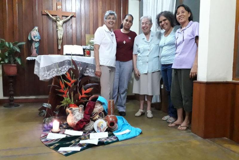 Renovación de votos temporales de Judeysi Castro