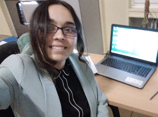 Periodista Natalia