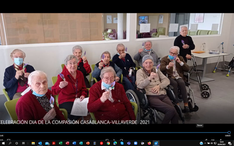 Celebración de la Compasión 2021 Villaverde-Casablanca