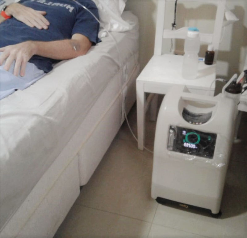 Generador recuperación enfermos Covid-19